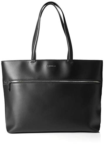 Fiorelli Damen City Stofftasche, Schwarz (Black), 45.0x30.5x16.0 centimeters