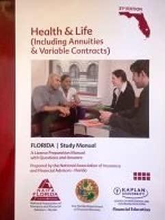 florida life health & variable annuity study manual 31st edition