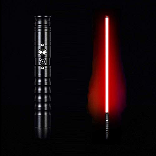 Yumhoo Spada Laser, Spada di Metallo Effetto Sonoro Incandescente