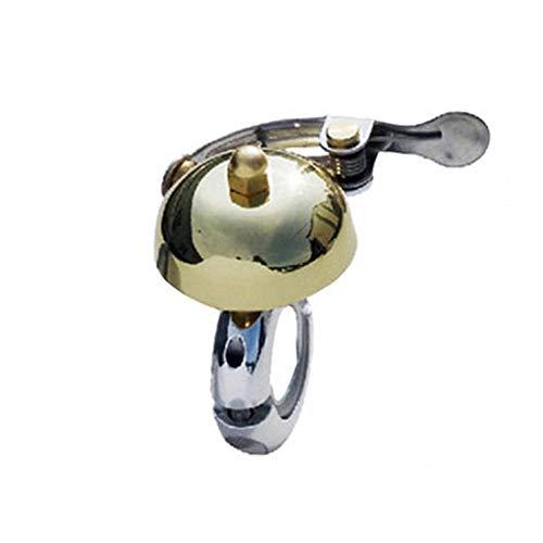 Bell fietsbel 22,2 – 25,4 mm voor mountainbikes van koper, mountainbike, voor fiets, diameter van de fiets, retro, hoorn, vaste aandrijving, super afzuigkap Riding Accessoires E