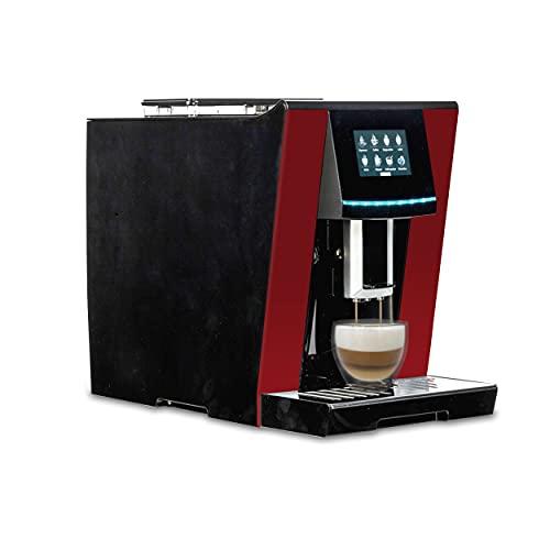 Acopino Vittoria One Touch RED Kaffeevollautomat & Espressomaschine mit Milchsystem,Cappuccino & Espresso auf Knopfdruck farbiges Touch Bildschirm