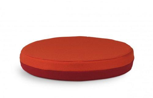Authentics Otto Sitzkissen Rot-Orange Komplett Fertig Verpackt