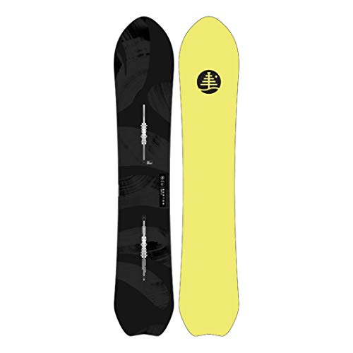 Burton Familythree Sensei - Tabla de snowboard para hombre, talla 151, color negro