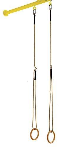 Esclavos Sport-ART 5721, Anillos de Madera de Decapado Láminas de Fibra, Cordajes, Cuerdas, Cables, De Par