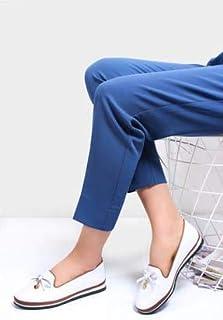 TARÇIN Hakiki Deri Günlük Kadın Babet Ayakkabı TRC78-0077