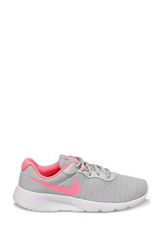 Nike Tanjun (GS) Grey Fog/Digital, rosa y blanco., color, talla 38.5 EU