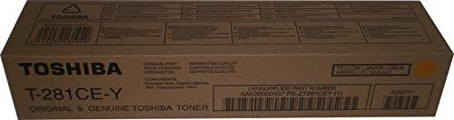 Toshiba TOS21140 - Cartucho de tóner, color amarillo