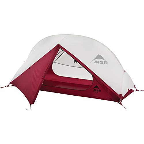 MSR Hubba NX 1-Person Lightweight Backpacking Tent, with Xtreme Waterproof Coating