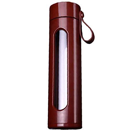 Cikuso Neue Kunststoff Glas Doppel Schicht Bruchsicher Glas Kreative Wasser Tasse M?Nner und Frauen Werbe Geschenke BüRo Tasse Kaffee