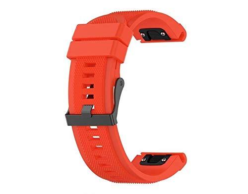 Pulseira de Silicone Vermelha Adulto P/Smartwatch Garmin Forerunner 935