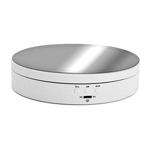 M STAR Store-Display-Rack, professionelle 360 ° -Kamera-Drehteller, automatische rotierende Plattform-Produktanzeige-Rack, 13cm 3kg Tragfähigkeit