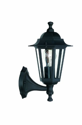 Massive 715250130 Peking Lanterne Murale Noir 1 x 60 W E27 230 V Noir
