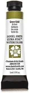 DANIEL SMITH 284610139 Extra Fine Watercolors Tube, 5ml, Green Gold