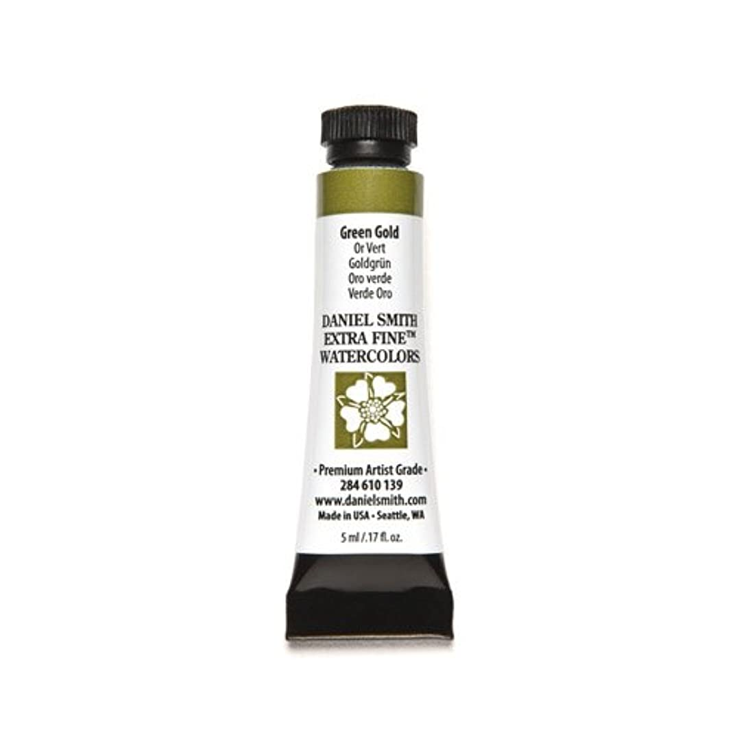 DANIEL SMITH 284610139 Extra Fine Watercolors Tube, 5ml, Green Gold