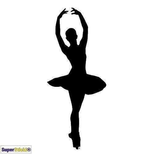 Silhouette Ballerina Tuning JDM Hobby decal sticker, autostickers, stickers voor ruit, lak, laptop, muurtattoo van high-performance folie, professionele kwaliteit, UV- en wasstraatbestendig