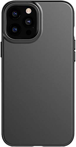 tech21 Evo Slim for Apple iPhone 12 Pro Max 5G - Germ Fighting Antimicrobial Phone Case with 8 ft. Drop Protection, Jet Black