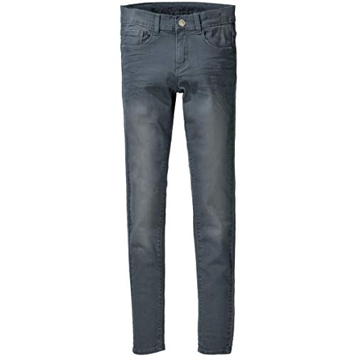 Staccato Mädchen Jeans Kate - Slim Fit - Skinny Stretch - Mid Grey Denim - 5-Pocket-Style - Casual Größe 134