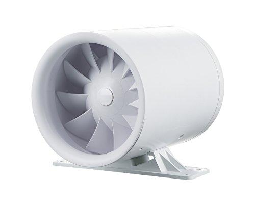 Ventilador de tubo Soundless Turbine Duo – silencioso como el viento, fuerte como una turbina (150 mm con 2 niveles sin temporizador)