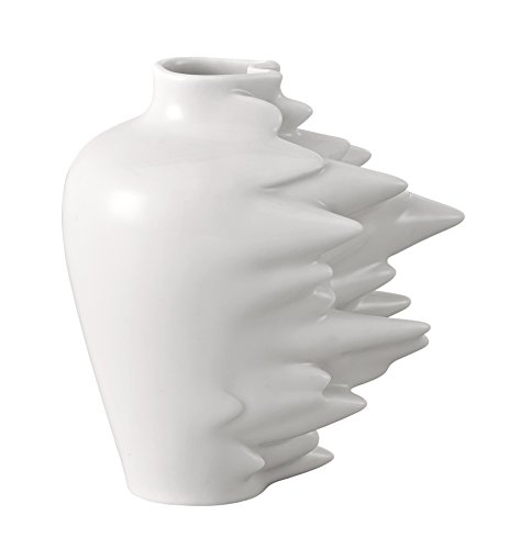 Rosenthal 14271-800001-26010 Fast - Jarrón de Porcelana pequeño (Altura de 10cm), Color Blanco