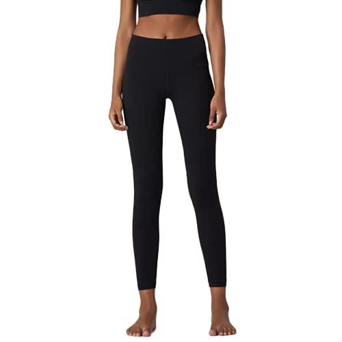 QTJY Pantalones de Yoga Deportivos Delgados y sexys para Mujer, Gimnasio con Bolsillos, Leggings de Cintura Alta, Pantalones Deportivos elásticos con Push-up A M