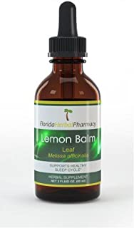 Sponsored Ad - Florida Herbal Pharmacy, Lemon Balm (Melissa officinalis) Tincture/Extract 2 oz.