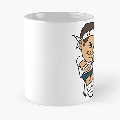 ATP Tennispro of Tennis Roger PRO King Federer Migliore Tazza da caffè Regalo 11 oz