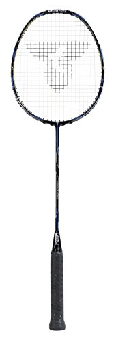 Talbot-Torro Badmintonschläger Isopower T8005, Ultra Carbon4, Long-Shaft für viel Power, Mega Power Zone, 439939
