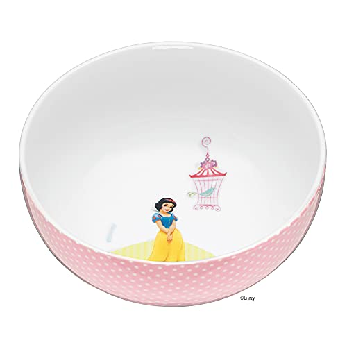 WMF Disney Princess Kindergeschirr Kinder-Müslischale 13,8 cm, Porzellan, spülmaschinengeeignet, farb- und lebensmittelecht