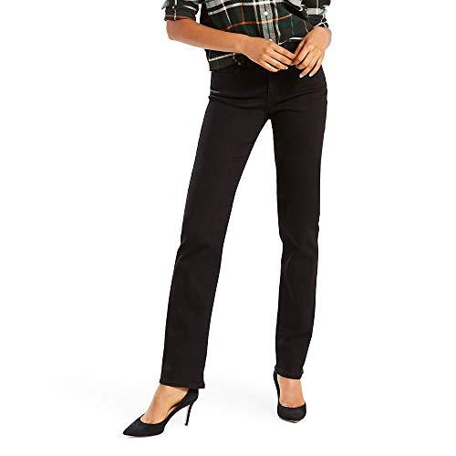 Levi's Women's Classic Straight Jeans, Soft Black, 28 (US 6) R