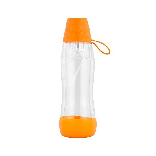 Teesa Unisex-Youth PURE WATER Butelka filtrująca ,Pomarańczowy ,550 ml ,TSA0120-O