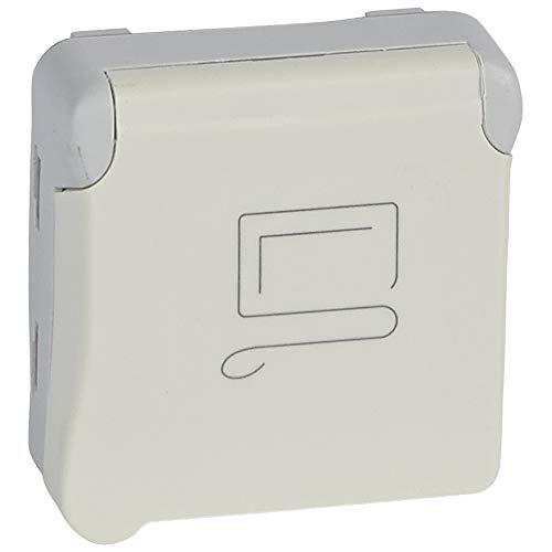 LEGRAND - Prise 2P+T à détrompage composable blanc 16 A 250 V LEGRAND PLEXO 069623 - LEG-069623