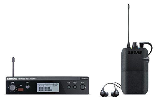 Shure PSM300 P3TR112GR Wireless In-Ear Personal Monitoring System with SE112 Earphones