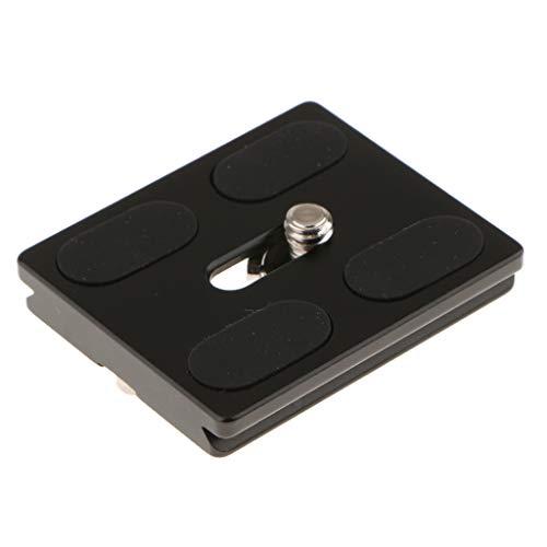 Baoblaze QAL-50 Prof. Kamera-Schnellwechselplatte Schnellverschlussplatte für Kameras mit 1/4