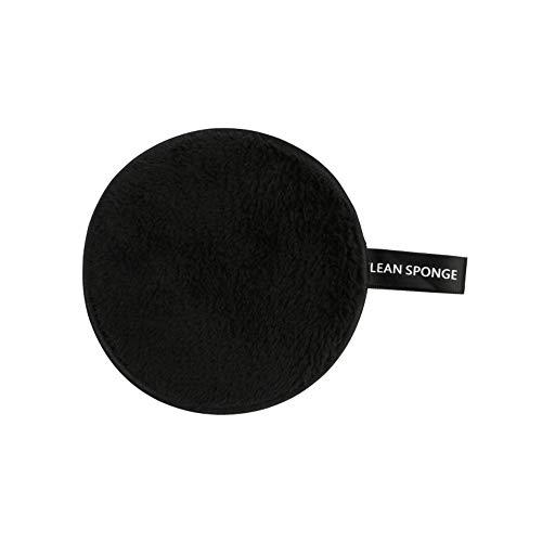 Greetuny 1X Esponja desmaquillante facial Lavable Microfibra Suave Esponja del Soplo de Polvo Viajes Doble cara Maquillaje Esponja facial limpiadora Herramientas (F)