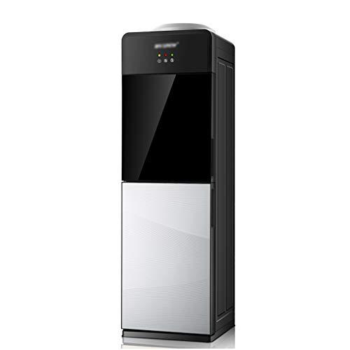 Hot & Cold Bottled Water Cooler Dispenser, Wasserspender 5 Gallonen Top Loading, Mit Kindersicherung Und Gehärtetem Glas Tür, Geeignet Für Home Office Schule