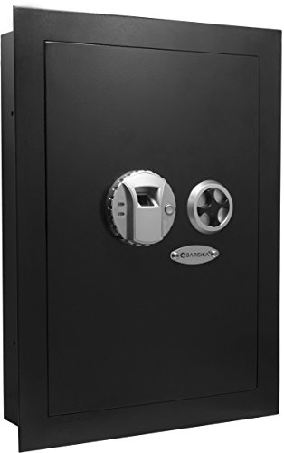4. Barska Biometric Fingerprint Security In-Wall Safe (AX12038)