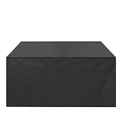 WZDD Funda Protectora para Muebles De Jardín 250x200x80cm, Cubierta De Muebles De Patio, Resistente Al Agua, Transpirable Fundas para Sofa De Esquina, Mesa Y Sillas