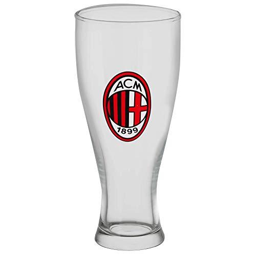 Giemme Bicchiere Birra Milan MI1348 da 415ml