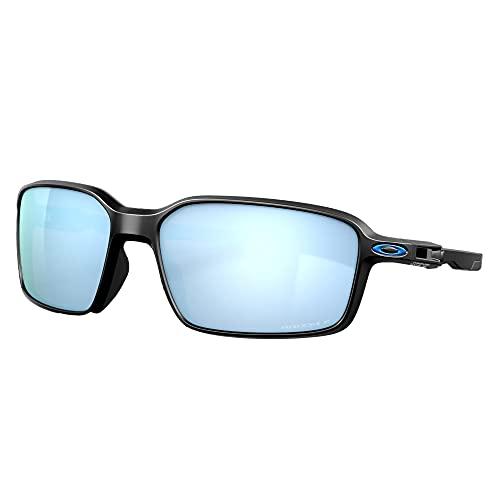 Oakley Oo9429 Siphon, Gafas Unisex Adulto, Matte Black/Prizm Deep Water Polarized, 64 cm