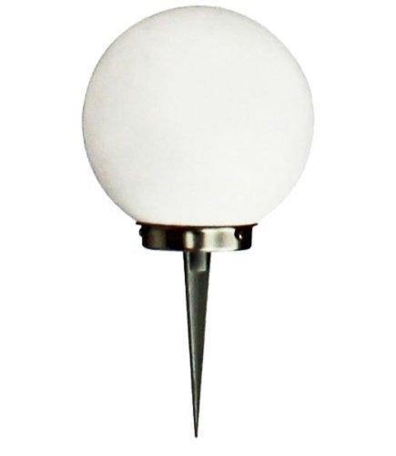 LED zonnelamp tuinverlichting solar lamp met grondpen bal Ø 20 cm
