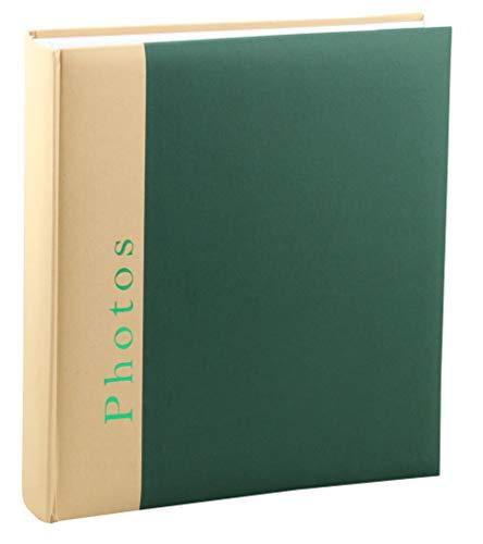 Chapter Fotoalbum in 30x30 cm 100 Seiten Foto Album Buchalbum Jumbo: Farbe: Grün