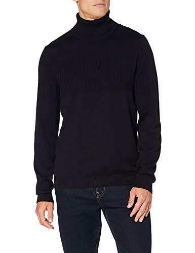 HUGO Mens Siseon Sweater, Navy (410), XXL