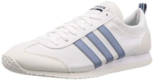 adidas Vs Jog, Scarpe Running Uomo, Bianco (Ftwwht/Rawgre/Crywht 000), 49 1/3 EU
