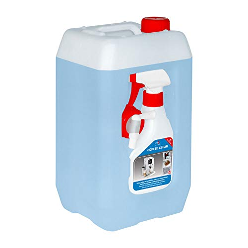 ceragol ultra Coffee Clean Reinigungs-Spray – Sprüh-Reiniger für Kaffee-Maschinen, Kaffee-Vollautomaten und Siebträger, 5 Liter inkl. Sprühflasche