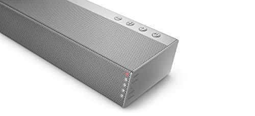 Philips B6405/10 Soundbar Bluetooth mit Subwoofer kabellos (2.1 Kanäle, 140 W Ausgangsleistung, Dolby Audio, HDMI ARC, Schlankes Design Inklusive Wandhalterung) - 2020/2021 Modell
