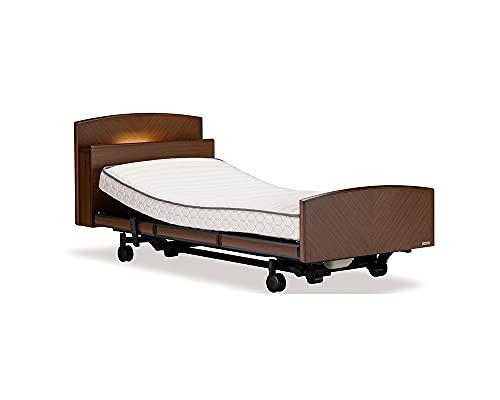 フランスベッド グランマックスプレミア GX-P303C 電動リクライニングベッド シングル セミダブル RX-STD2 マットレス付 電動ベッド 介護ベッド (セミダブル, 3M/キャスター/有線リモコン)