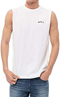 20 RVCA ルーカ シャツ FRONT ARCH TANK タンクトップ メンズ 2020年春夏 品番 BA041-354 日本正規品 Mサイズ WHT(ホワイト)