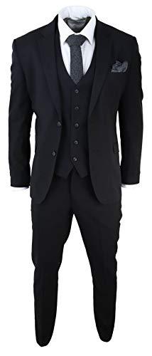 House Of Cavani Herrenanzug 3 Teilig Klassisch Regular Kurz Lang Passform Tailored Fit