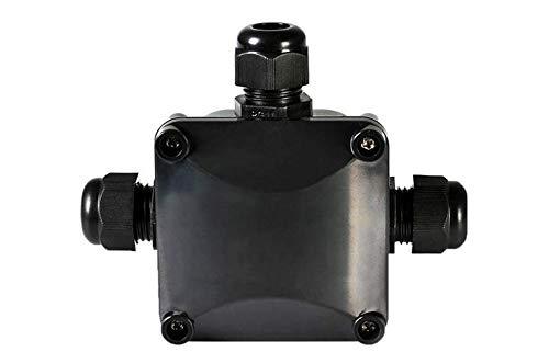 6er Kabel-Verbindungsbox, Abzweigdose IP68 Außen, Verteilerdose Außen WasserdichtVerbindungsmuffe für Kabeldurchmesser 5.5-10.5mm, 3-polig