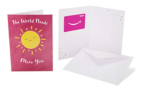 Amazon.com Gift Card in a Greeting Card (Thank You Sun Design)